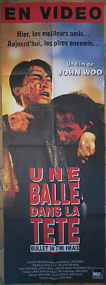 Affiche video club - Une balle dans la tête - Bullet in the head - 156 x 58 cm