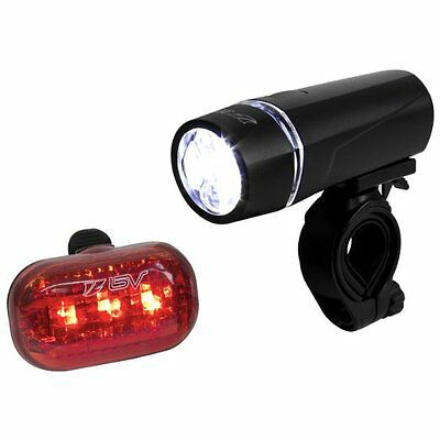 USB Rechargeable LED Bicycle Light Waterproof Front Rear Tail Warning EH7E 01
