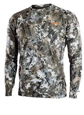 Sitka Gear Core Lightweight Crew LS  Optifade Elevated II New With Tags