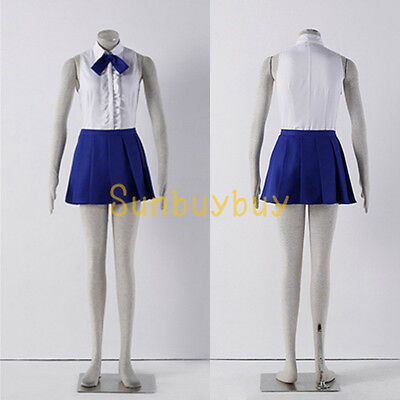 Fairy Tail Erza·Scarlet Daily Uniform Cosplay Costume Dress {JH8