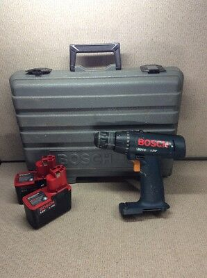 Bosch 3315 12V Cordless Drill/Driver Kit w/Hard Case - And Extra