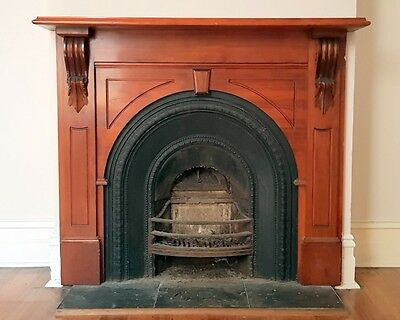 Cast Iron Fireplace Victorian
