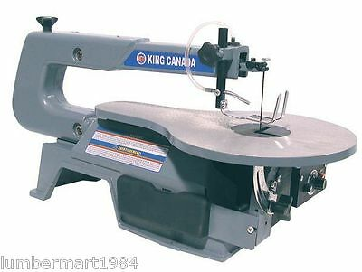 """King Canada Tools KC-163SSC-V-6 16"""" VARIABLE SPEED SCROLL SAW Scie à Chantourner"""