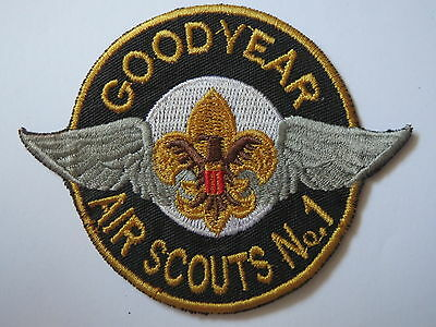 boy scouts patch ,  AIR SCOUTS  NO.6 , GOOD YEAR  , AIR SCOUTS  , BSA PATCH