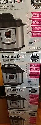 Instant Pot IP-DUO60 V2 Programmable Electric Pressure Cooker, 6Qt, 7 in1 Cooker