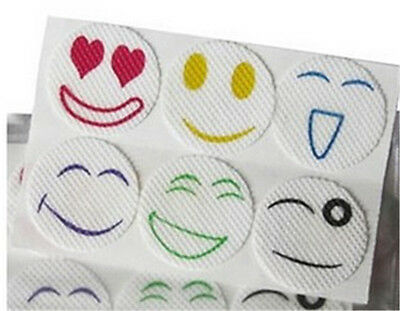 60pcs Smiley Insect Mosquito Repellent Stickers Patches Citronella Oil Hot