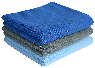Microfiber Gym Travel Sports Camp Towels Absorbent Fast Drying 3-Pack