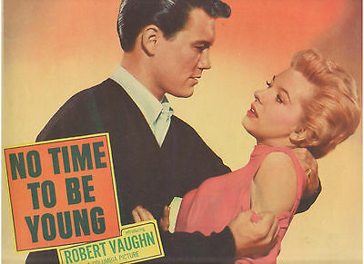 No Time To Be Young Roger Smith Kathy Nolan Vintage Original U.s. Lobby Card