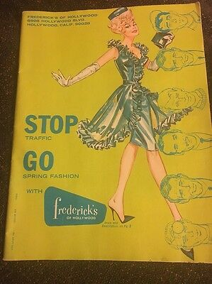 Vintage Frederick's Of Hollywood Catalog 1965 Retro Fashion Lingerie Vol. 19