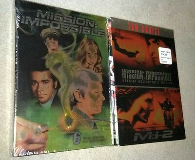 Mission: Impossible - The Sixth TV Season DVD & Mission Impossible 1 & 2 Movies
