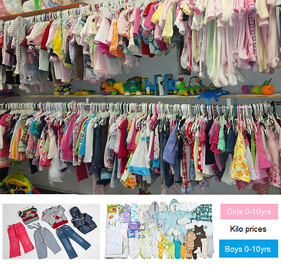 Wholesale lots of Kids clothing packages, GRADE A CLOTHES boys & girls age 0-12