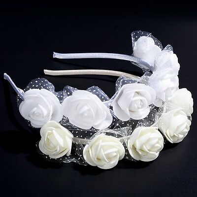 Headband Kids Girl Baby Toddler Bow Flower Hair Band Accessories Headwear Hot