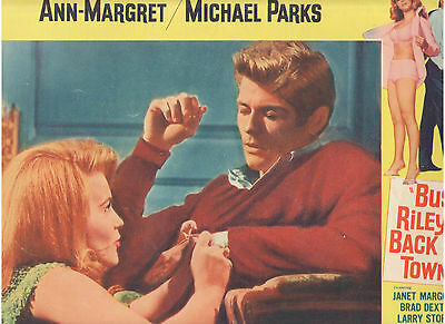 Bus Riley's Back In Town Ann Margret Michael Parks Vintage Org U.s. Lobby Card C