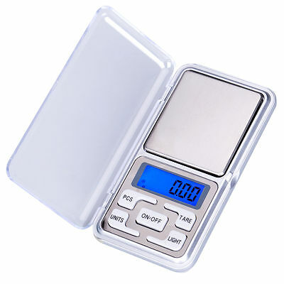 MINI 200g 0.01 DIGITAL POCKET SCALES JEWELLERY PRECISION KITCHEN GRAM POINT