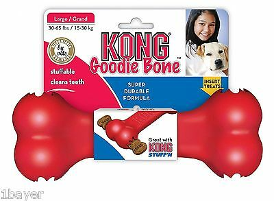 Kong Pet Rubber Training Play Gift Toy Supply Planet Goodie Dog Chew Treat Bone