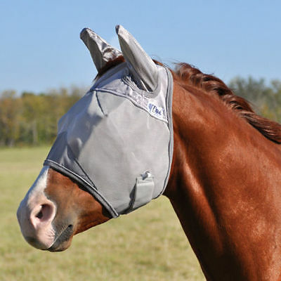Cashel Crusader Fly Mask with Ears Horse Pony