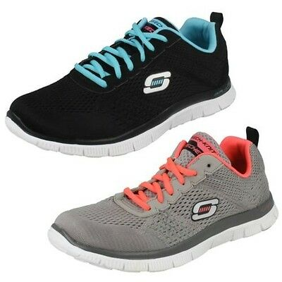 3dc9613df24a SKECHERS FLEX APPEAL-OBVIOUS CHOICE Ladies Sports Gym Trainers ...