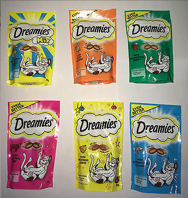 Dreamies Cat Treats Mix of Flavours X20 Today if Paid Before1pm