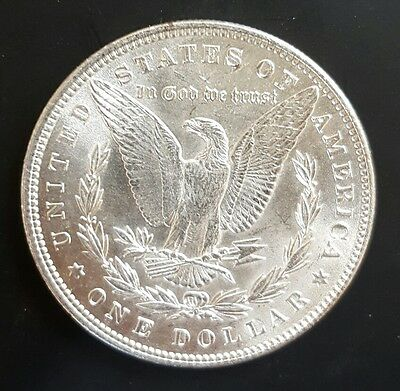 1896 P USA Morgan Silver Dollar Coin. UNCIRCULATED....