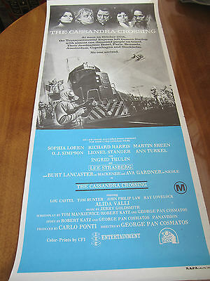 The Cassandra Crossing - 1976 - Australian Original Daybill Poster