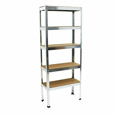 NEW! 500kg Heavy Duty 5 Tier Metal Storage Garage File Shelving Racking