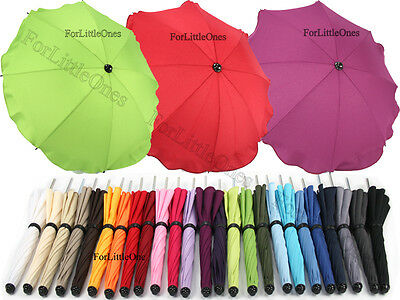 Baby sun rain UMBRELLA PARASOL baby buggy pushchair pram shade brolly canopy