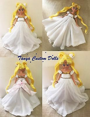 Sailor Moon Princess Serenity Doll Bambola Custom OOAK