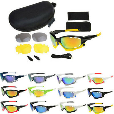 Cycling Sunglasses Polarized Bicycle Eyewear 3 Lens Outdoor Sport Glasses UV400