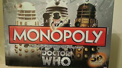 Monopoly Doctor Who 50th Anniversary Collector's Edition. Brand New still sealed
