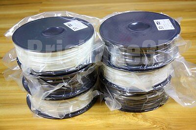ABS 3D Printer Filament 1.75mm / 3.0mm BLACK WHITE 1kg superior quality