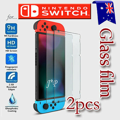 [2 Pack] Nintendo Switch 9H Screen Protector Tempered Glass Film Guard
