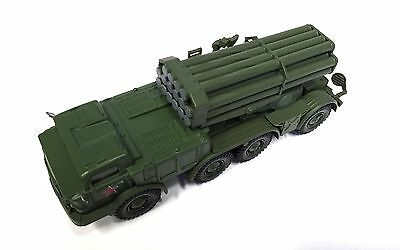 BM-27 Uragan RUSSIA ARMY MILITARY VEHICLE 1:72 SCALE - DIECAST TANK PANZER GUN 2
