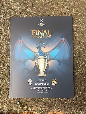 Programma Juventus - Real Madrid Finale Champions League 2017 Ucl Uefa