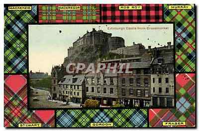 CPA Edinburgh Castle From Grassmarket