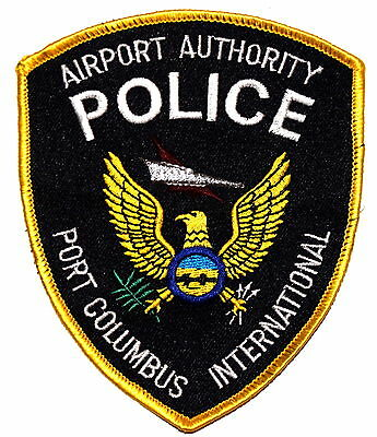 PORT COLUMBUS – INTERNATIONAL AIRPORT AUTHORITY - OHIO OH Police Sheriff Patch ~