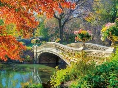 "Counted Cross Stitch Kit ""Bridge in Autumn"" by Andrea's Designs"