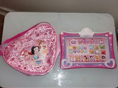 Disney Princess My First Touchpad Tablet with 4 Fun Learning Game Modes Plus Bag
