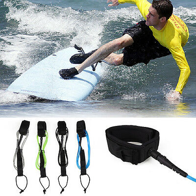 Surfboard Leash TPU Surfing Paddle Board Leg Foot Rope Strap 6ft 5.5mm