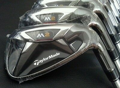 """New"" TaylorMade 2016 M2 iron Set / 4-P / Steel shaft S - flex / MRH. #0530"