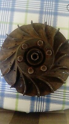 Vespa SS180 GS160 engine flywheel Rare