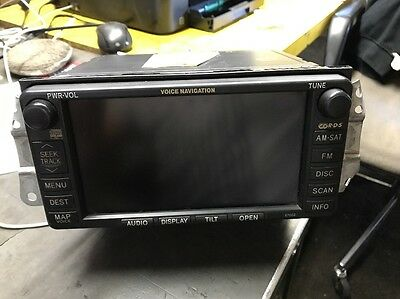 2002 2003 2004 2005 2006 Toyota Camry XLE LE NAVIGATION GPS OEM screen System