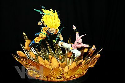 DRAGON BALL Z GOKU GOKOU SS3 vs KID BUU RESIN FIGURE FIGURA STATUE. PRE-ORDER