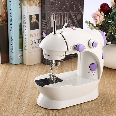 Electric Handheld Mini Sewing Machine Double Threads Automatic Tread Rewind GT
