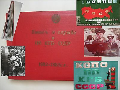 USSR Demobilization Album1982-1984s  KGB Soldier Border guard 255 foto