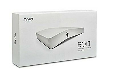 TiVo BOLT 500 GB DVR: Digital Video Recorder and Streaming Media Player - 4K UHD
