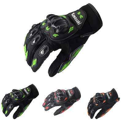 KAWASAKI Armor Gloves Protections Motorcycle Cycling Offroad Moto GP Racing New