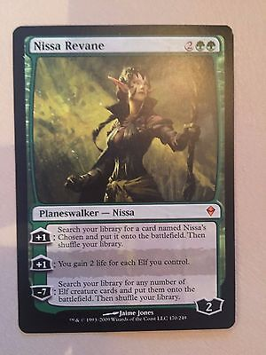 Magic The Gathering - Nissa Revane X1 - Zendikar - NM