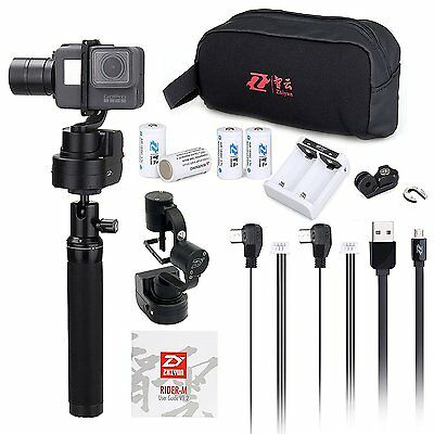 Zhiyun Z1-Rider M Wearable&handheld 3 Axis Gimbal Stabilizer for Gopro Hero 5