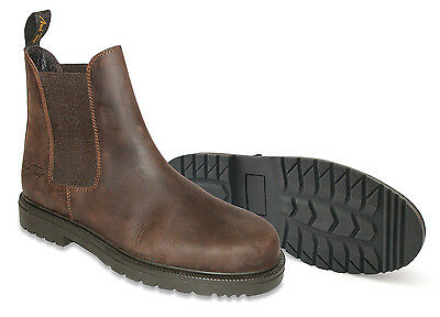 Mark Todd Kiwi Pull On Boot Brown Size 41 SHOP CLEARANCE