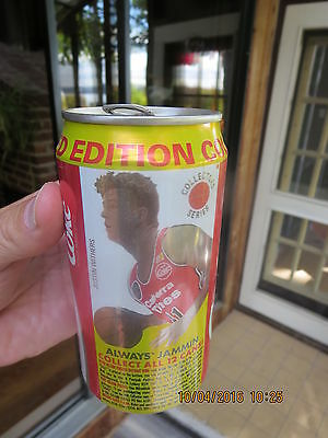 Coca-Cola can 375ml canada JUSTIN WITHERS basketball limited collector edition
